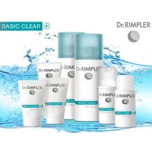 Dr.Rimpler cosmetics introduces new basic clear series